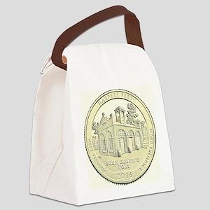 West Virginia Quarter 2016 Basic Canvas Lunch Bag