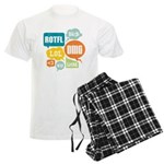 Text Shortcuts Men's Light Pajamas