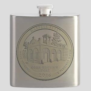 West Virginia Quarter 2016 Basic Flask