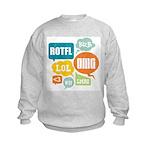 Text Shortcuts Kids Sweatshirt