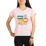 Text Shortcuts Performance Dry T-Shirt
