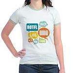 Text Shortcuts Jr. Ringer T-Shirt