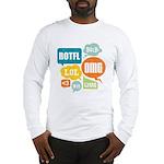 Text Shortcuts Long Sleeve T-Shirt