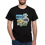 Text Shortcuts Dark T-Shirt