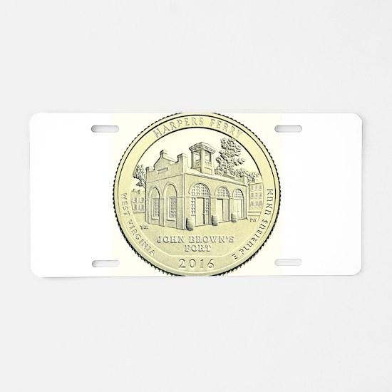 West Virginia Quarter 2016 Basic Aluminum License