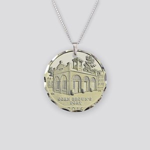 West Virginia Quarter 2016 Basic Necklace Circle C