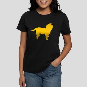 Yellow Affen Women's Dark T-Shirt