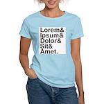 Lorem Ipsum Dolor Women's Light T-Shirt