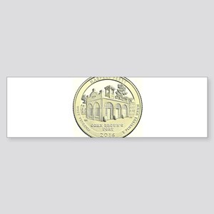 West Virginia Quarter 2016 Basic Sticker (Bumper)