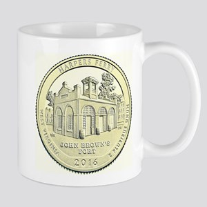 West Virginia Quarter 2016 Basic 11 oz Ceramic Mug