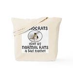 RATS anti-Democrat Tote Bag