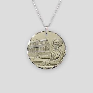 DC Quarter 2017 Necklace Circle Charm