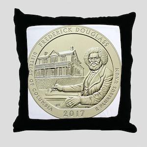 DC Quarter 2017 Throw Pillow