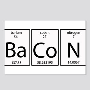 Bacon periodic Postcards (Package of 8)