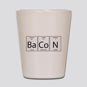 Bacon periodic Shot Glass