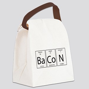 Bacon periodic Canvas Lunch Bag
