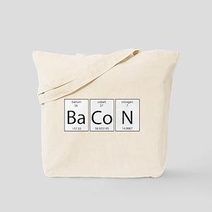 Bacon periodic Tote Bag