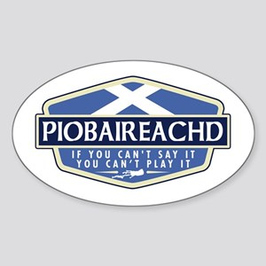 Piobaireachd Rectangle Sticker