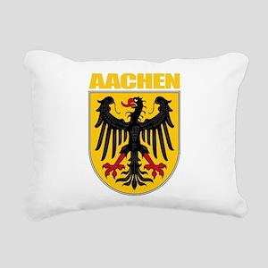 Aachen (gold) Rectangular Canvas Pillow