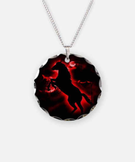Fire Horse Necklace