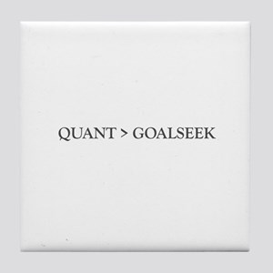 Quant > Goalseek Tile Coaster