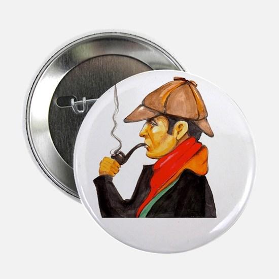 "Sherlock Holmes Logo 2.25"" Button"