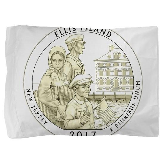 New Jersey Quarter 2017 Pillow Sham