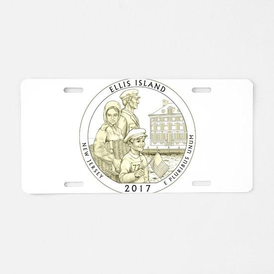 New Jersey Quarter 2017 Aluminum License Plate