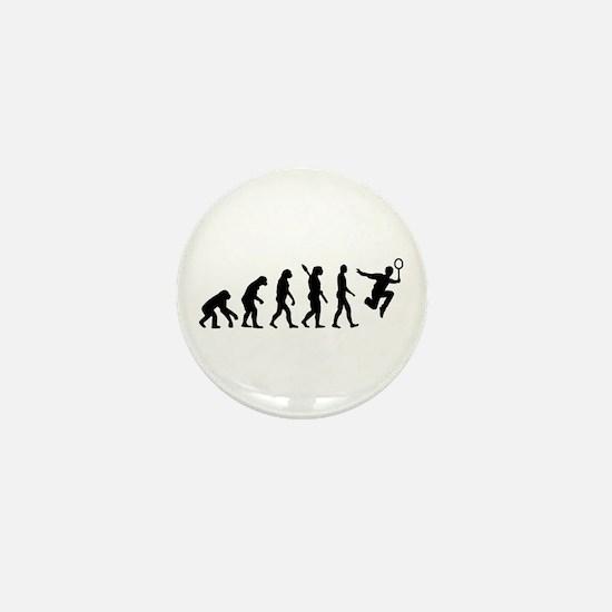 Evolution Badminton Mini Button