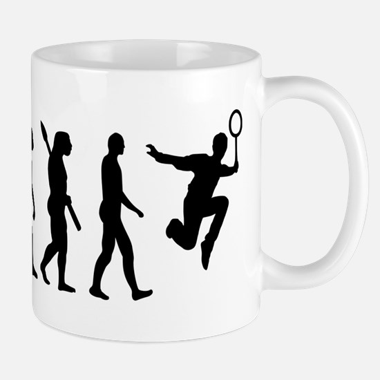 Evolution Badminton Mug
