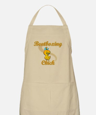 Beatboxing Chick #2 Apron