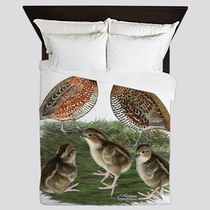 Bobwhite Family Queen Duvet