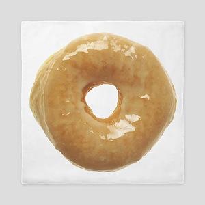 Doughnut Raised Glazed Queen Duvet