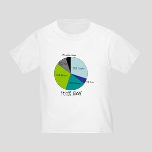 Pie Chart Toddler T-Shirt