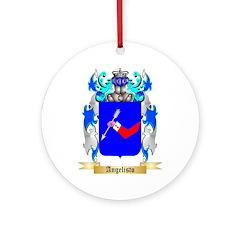 Angelisto Ornament (Round)