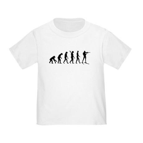 Evolution Biathlon Toddler T-Shirt