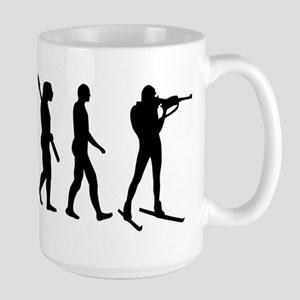 Evolution Biathlon Large Mug