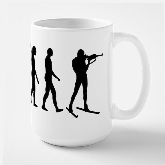 Evolution Biathlon Large Mug