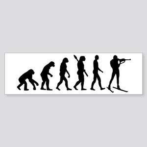 Evolution Biathlon Sticker (Bumper)