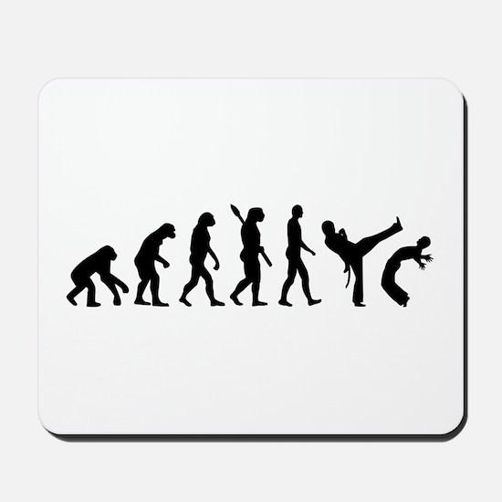 Evolution Capoeira Mousepad