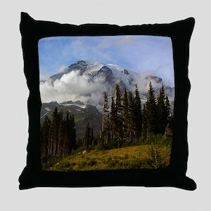 Mt. Rainier #3 Throw Pillow