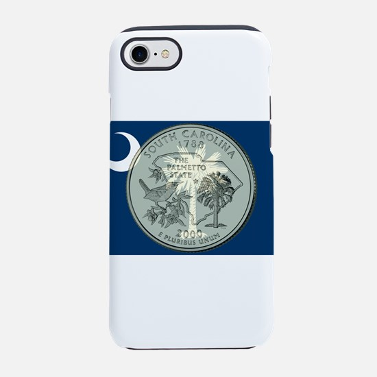 South Carolina Quarter 2000 iPhone 7 Tough Case