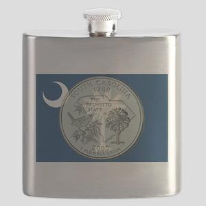 South Carolina Quarter 2000 Flask