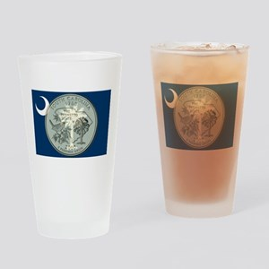 South Carolina Quarter 2000 Drinking Glass