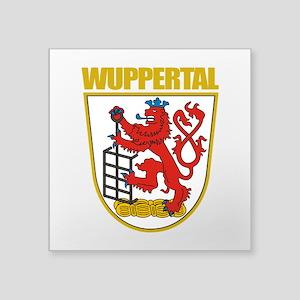"""Wuppertal COA Square Sticker 3"""" x 3"""""""