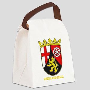 Rheinland-Pfalz (gold) Canvas Lunch Bag