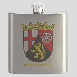Rheinland-Pfalz (gold) Flask