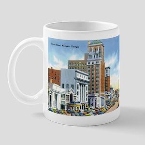 Vintage Georgia Street Scene Mug