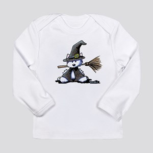 Westie Witch Long Sleeve Infant T-Shirt