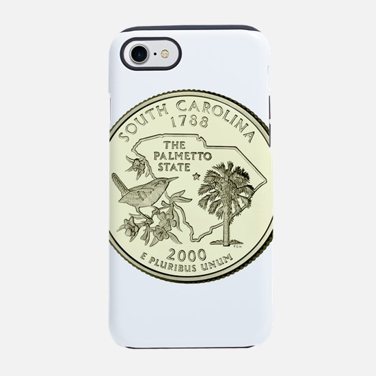 South Carolina Quarter 2000 Basic iPhone 7 Tough C